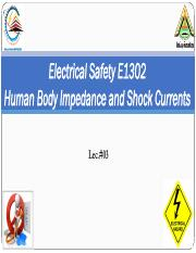 ES Lec#03 Human Body Impedance and Shock Currents.pdf