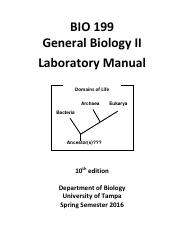199 Lab Manual Sp16