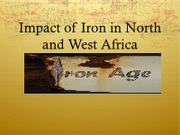 Impact of Iron in North and West Africa