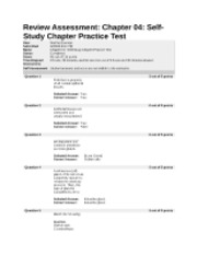chapter 4 review test