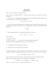 Solutions to Assignment 5 3D03