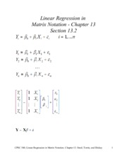cpsc+440+chapter+13+Linear+Regression+in+Matri