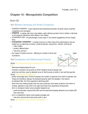 Principles of Economics - Chapter 16