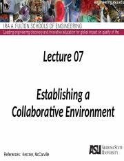 Lecture 07dm Collaberative Project Environment(3)
