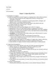 ap government chapter 5 essay questions