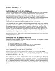 RSS HW 3 - Interview your sales coach report (1)