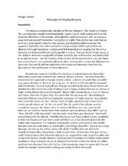 """phil 201 response on being atheist Introduction in the article entitled """"on being an atheist,"""" hj mccloskey attempts to refute the notion of the existence of god he opens with his stated goal: """"in this article i wish to remind fellow atheists of the grounds upon which theists base their belief in god, of the inadequacy of these grounds."""