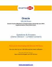 Pass  Oracle  1Z0-330 Exam In First Attempt