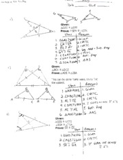 overlapping triangles practice key