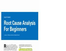 root cause analysis for beginners
