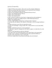 Corp341QuestionsClass17DividendPolicy