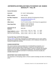 140-F09 Syllabus, OL Version, Access-Old Word, Rev 8-21-09