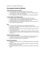 Econ Ch. 6 Textbook Notes