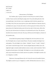 Characterization of the pilgrims (1).docx