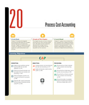 Chapter 20 Process Cost Accounting