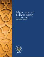 Yedidia Stern, 2017, Religion, state, and the Jewish identity crisis in Israel.pdf