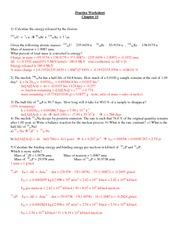 CHEM 114 - Chap 15 Practice Problem Solutions