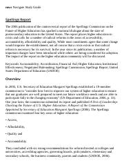 Spellings Report Research Paper Starter - eNotes.pdf