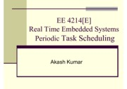 Lecture 3 Periodic Task Scheduling Single