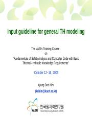 13_Thur_2_KDK_VAEC_Input guideline for general TH modeling.ppt