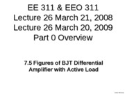Lect27 7.5.5 Part0 Figures of BJT Diff Amp With Active Load