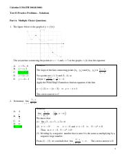 Test 1 Practice Problem Solutions 2017FS