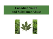 L2D Canadian Youth & Substance Abuse PSYC3403 1-16-12