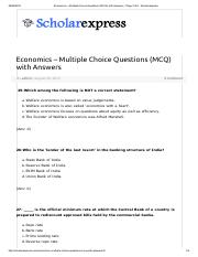 Economics – Multiple Choice Questions (MCQ) with Answers - Page 3 of 8 - Scholarexpress.pdf