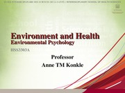 HSS3303A 6 Environmental Psychology Student