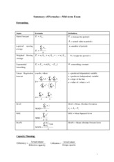 Formula Sheet_Mid-term Exam