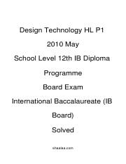 (www.entrance-exam.net)-IB Board-12th IB Diploma Programme Design Technology HL P1 Sample Paper 2.pd