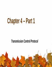 Chapter 4 – Part 1.pptx