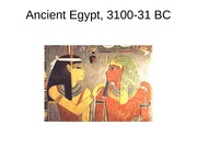 Ancient Egypt and the Levant