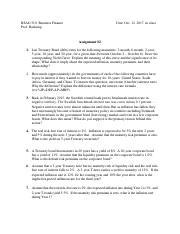 Assignment #2 | Interest rates.pdf
