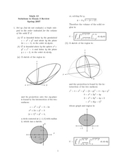 Review Sheet Exam 3 Solutions