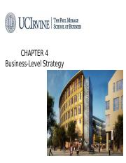 Ch04_Business level strategy