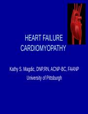 Heart failure and Cardiomyopathy 2.10.14 HO.ppt