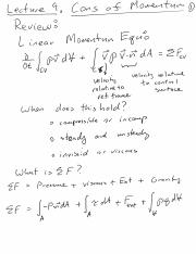 Lecture 9 Cons Momentum Examples