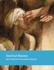 Doctrinal Mastery New Testament