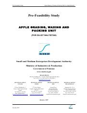 Apple Grading Waxing and Packing Unit - For Gilgit Baltistan Rs. 35.70 million Jan-2017.pdf