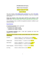 ADMS3530_Midterm exam information_Fall2015