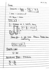 CHEM 122 Fall 2014 Gases Lecture Notes