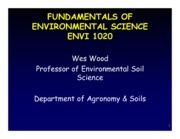 Enviro Introduction Notes