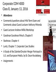 Class 8 Corp Comm 4000_1-13-16 with Andrew Willis guest lecture(1).ppt