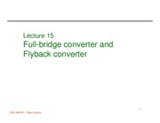Lecture 15 Full bridge and flyback.pdf