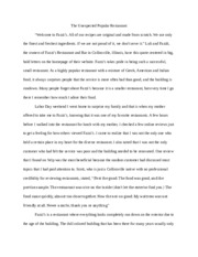 Fazzi's restaurant review, Writ 102.docx