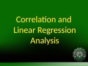 Correlation and regression analysis with EXCEL -engstat.ppt
