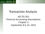Acctg 501 Chapter 3 (1)