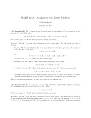 M115A-AssignmentOneExtraSolutions