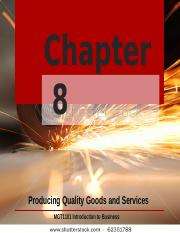 Chapter 8 Producing Quality Goods and Services (2).pptx